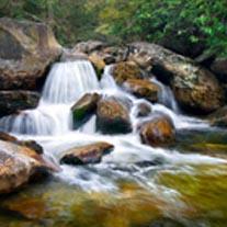 kinkade-waterfall