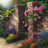 kinkade-rose-garden