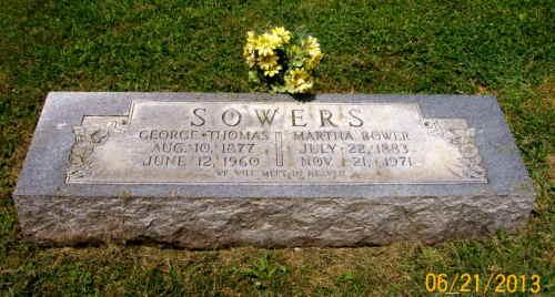 Sowers, George Thomas