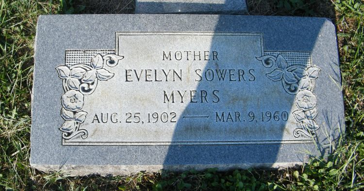 Myers, Evelyn Sowers